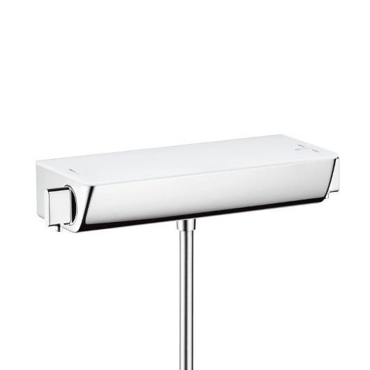 Смеситель для душа термостатический Hansgrohe Ecostat Select 13111400 (белый/хром)