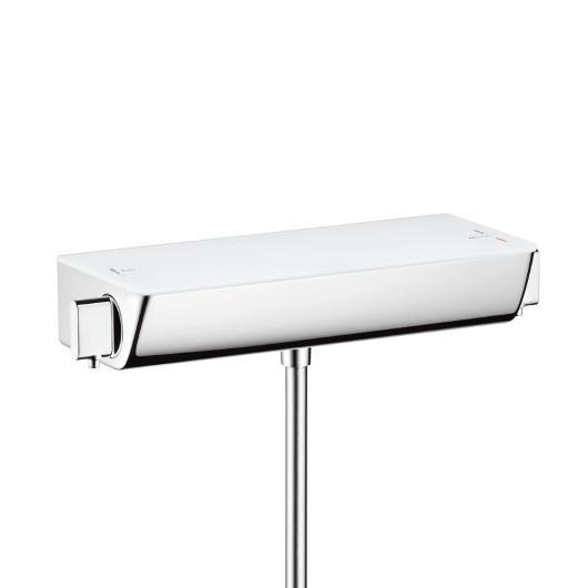 Смеситель для душа термостатический Hansgrohe Ecostat Select 13161400 (белый/хром)
