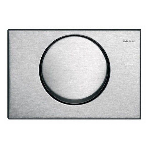 Смывная клавиша Geberit Delta15 115.101.00.1 (нержавеющая сталь)