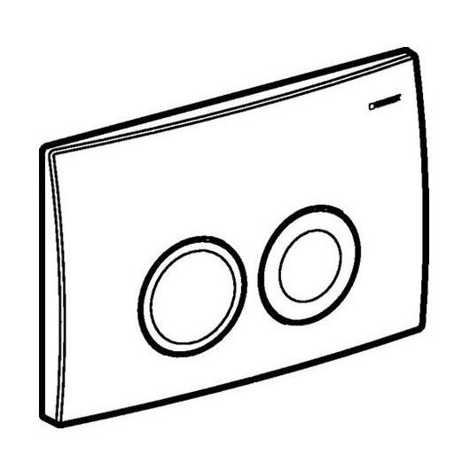 Смывная клавиша Geberit Delta21 115.125.11.1 (белый)