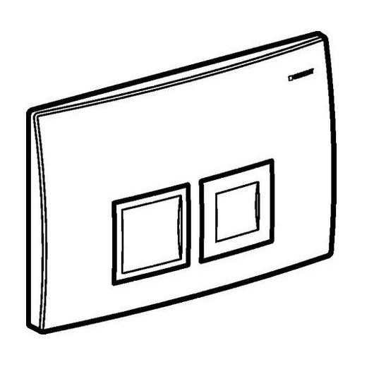 Смывная клавиша Geberit Delta50 115.135.11.1 (белый)