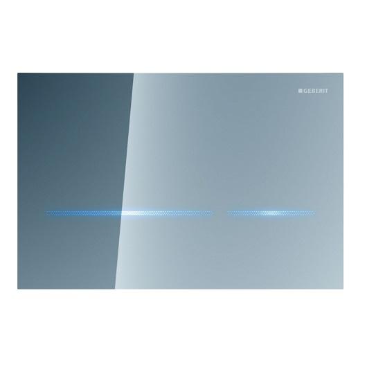 Смывная клавиша Geberit Sigma80 116.092.SM.1 (бесконтактная, зеркальное стекло)