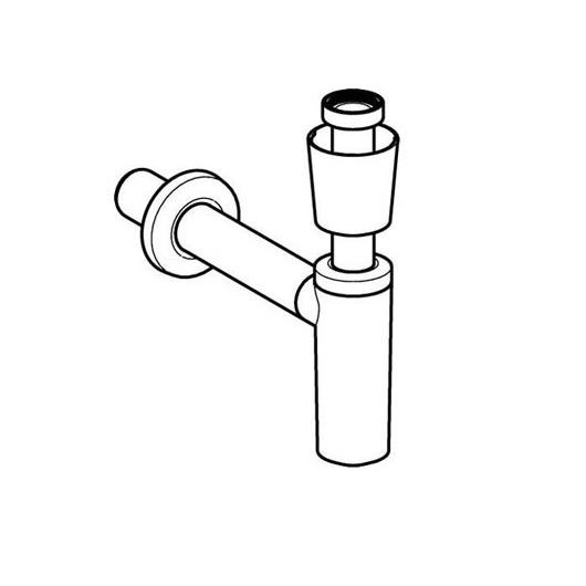 Сифон для умывальника Geberit 151.034.11.1 (1 1/4″, d 32 мм)