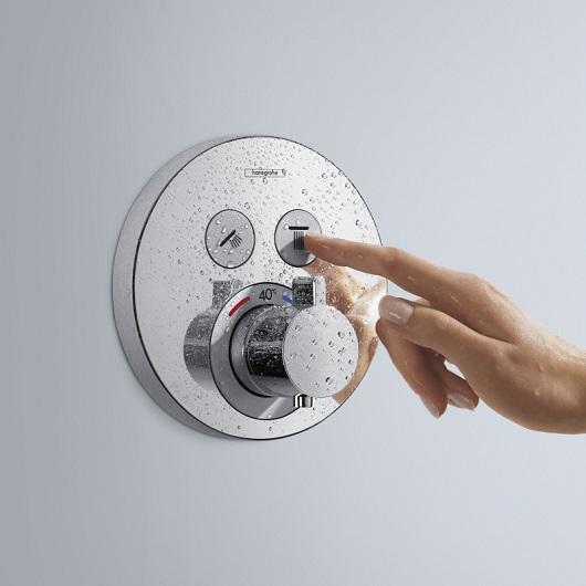 Термостат для 2 потребителей Hansgrohe ShowerSelect S 15743000