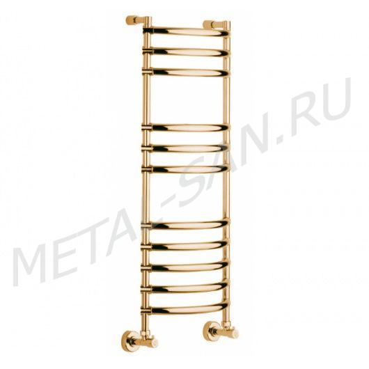 Полотенцесушитель водяной Margaroli Luna 434 (1071х425 мм) золото