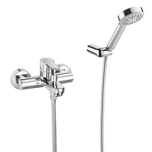 Смеситель для ванны с душевым гарнитуром Roca L20 75A0109C02