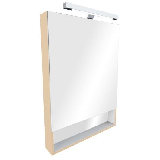Зеркальный шкаф Roca Gap 60 (600х850 мм) бежевый ZRU9302698