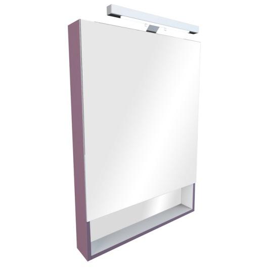 Зеркальный шкаф Roca Gap 80 (800х850 мм) фиолетовый ZRU9302753