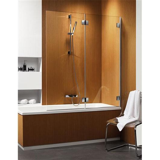 Душевая шторка на ванну Radaway Carena PND правая (1300х1500 мм) профиль хром глянцевый/стекло коричневое 202201-108R