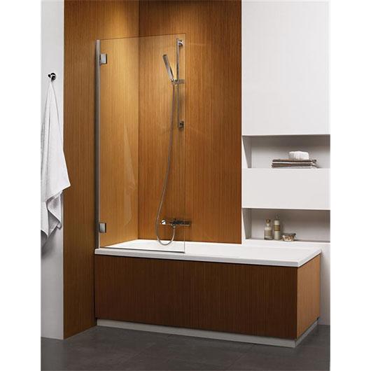 Душевая шторка на ванну Radaway Carena PNJ левая (700х1500 мм) профиль хром глянцевый/стекло коричневое 202101-108L
