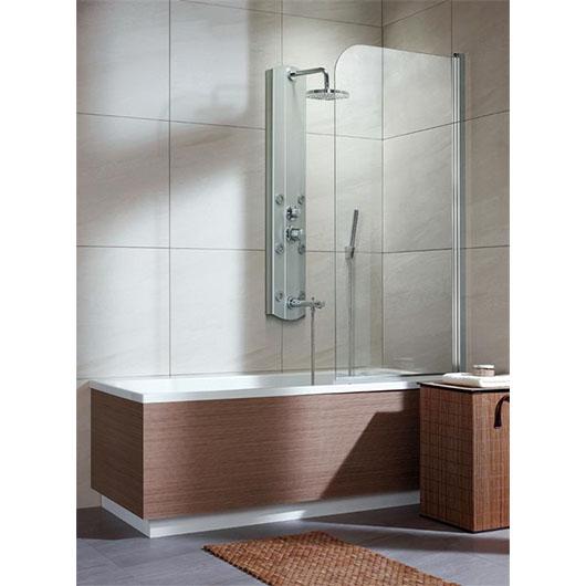 Душевая шторка на ванну Radaway EOS PNJ правая (700х1520 мм) профиль хром глянцевый/стекло прозрачное 205101-101R