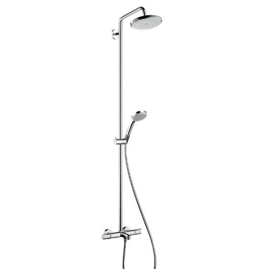 Душевая система Hansgrohe Croma 220 Showerpipe 27223000