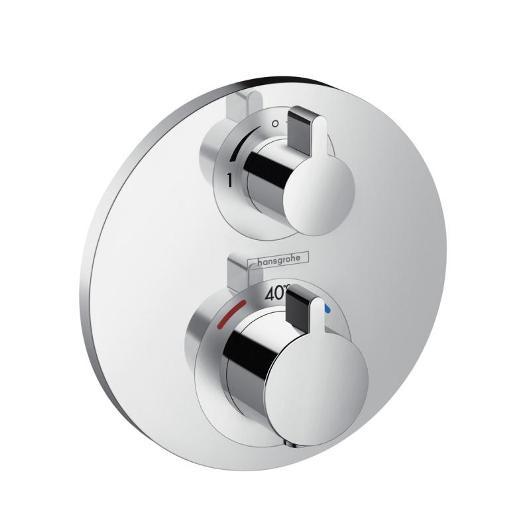 Термостат с запорным/переключающим вентилем Hansgrohe Ecostat S 15758000