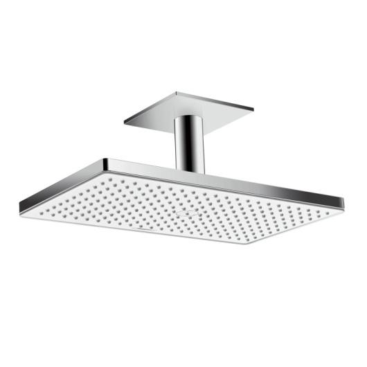 Верхний душ Hansgrohe Rainmaker Select 460 1jet (белое стекло) 24002400