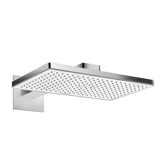 Верхний душ Hansgrohe Rainmaker Select 460 1jet (белое стекло) 24003400