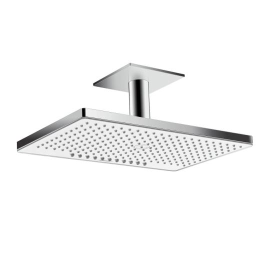 Верхний душ Hansgrohe Rainmaker Select 460 2jet (белое стекло) 24004400
