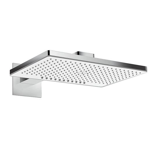 Верхний душ Hansgrohe Rainmaker Select 2jet (белое стекло) 24005400