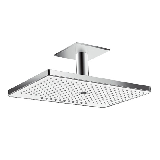 Верхний душ Hansgrohe Rainmaker Select 460 3jet (белое стекло) 24006400