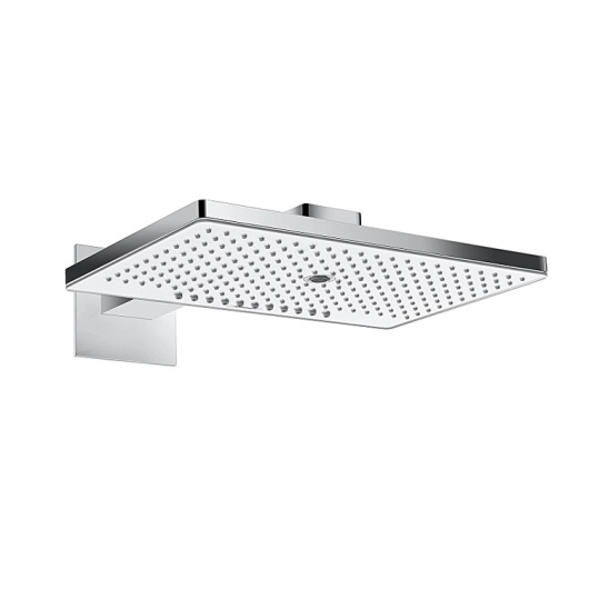 Верхний душ Hansgrohe Rainmaker Select 460 3jet (белое стекло) 24007400