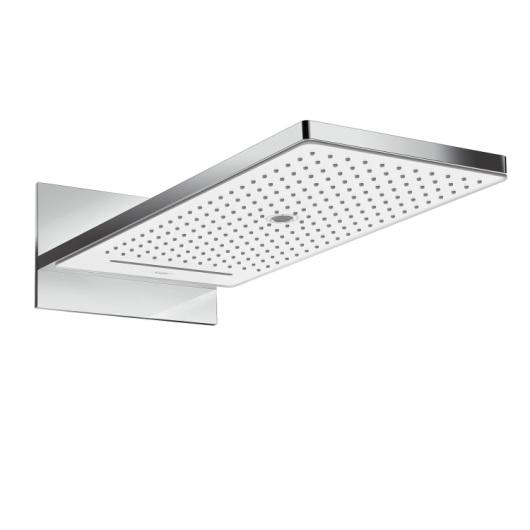 Верхний душ Hansgrohe Rainmaker Select 580 3jet (белое стекло) 24001400