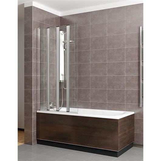 Душевая шторка на ванну Radaway EOS PNW5 (1070х1520 мм) профиль хром глянцевый/стекло прозрачное 205501-101