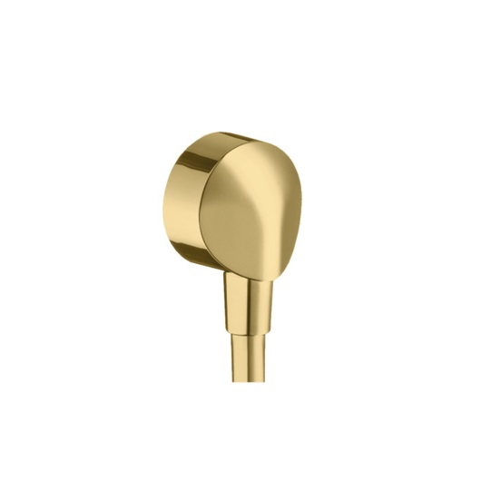 Шланговое подсоединение Hansgrohe Fixfit E 27454990 (полированное золото)