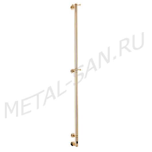 Полотенцесушитель электрический Margaroli Arcobaleno 616/L BOX (1678 мм) золото