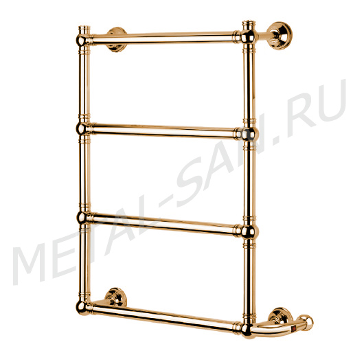 Полотенцесушитель электрический Margaroli Armonia 9-542 BOX (830х690 мм) золото
