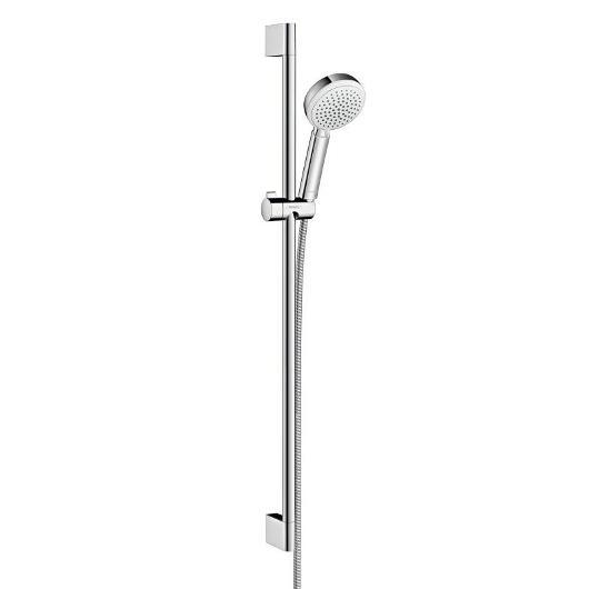 Душевой набор Hansgrohe Crometta 100 Vario (белый/хром) 26657400