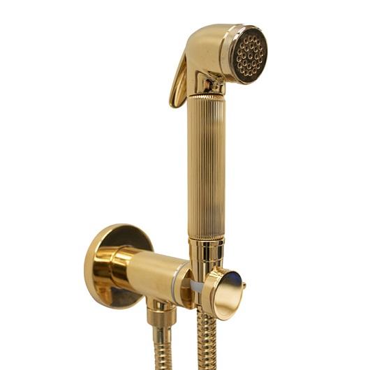 Гигиенический набор Bossini Nikita Mixer Set E37008 OR (золото)