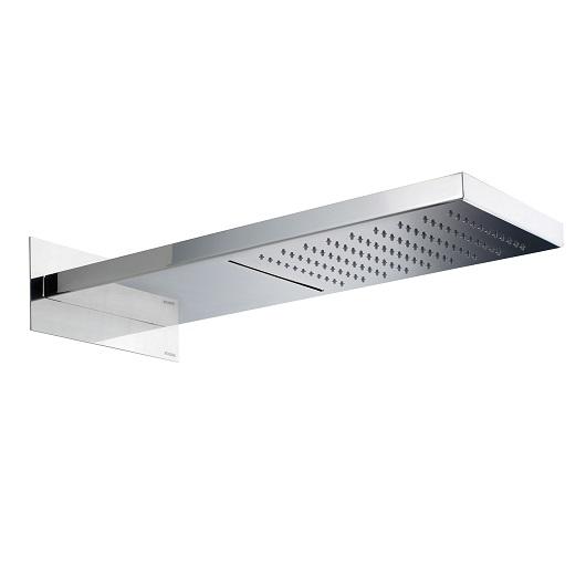 Верхний душ Bossini Manhattan I00570 CR (200х500 мм) хром глянцевый, с каскадом