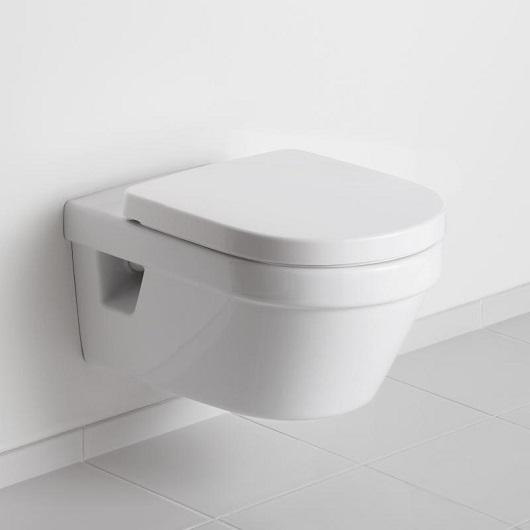 Унитаз подвесной Villeroy & Boch Architectura 5684 HR 01 (5684HR01) без смывного обода