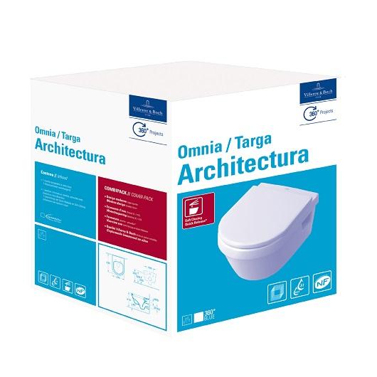 Унитаз подвесной Villeroy & Boch Architectura 5684 H1 01 (5684H101)