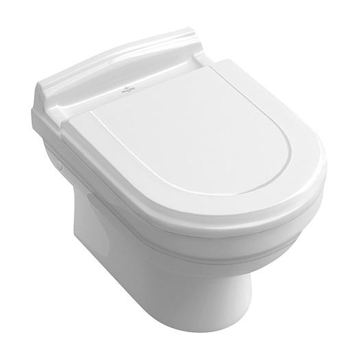 Чаша подвесного унитаза Villeroy & Boch Hommage 6661 B0 R1 (6661B0R1) CeramicPlus