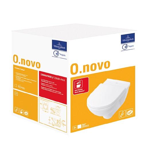 Унитаз подвесной Villeroy & Boch O.Novo 5660 H1 01 (5660H101)