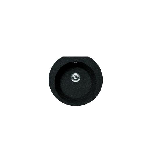 Мойка Florentina Эльба черный (20.145.C0555.102), 555х510мм