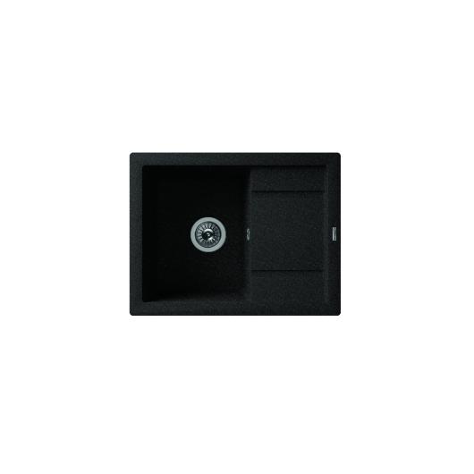 Мойка Florentina Липси-660 черный (20.155.C0660.102), 660х510мм