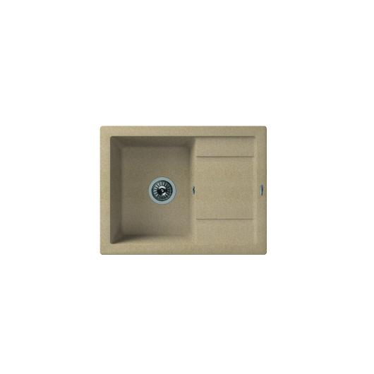 Мойка Florentina Липси-660 песочный (20.155.C0660.107), 660х510мм
