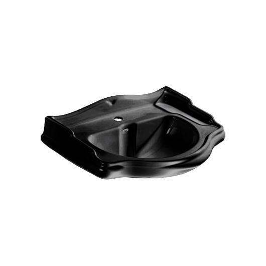 Раковина Kerasan Retro 104604 (690х520 мм) черная