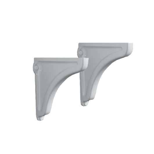Керамические опоры для раковины Kerasan Retro 107901 (белые) комплект