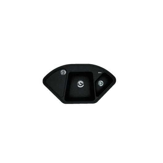 Мойка Florentina Капри черный (20.185.J1060.102), 1060х575мм