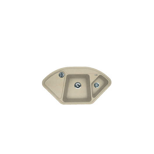 Мойка Florentina Капри песочный (20.185.J1060.107), 1060х575мм