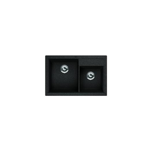 Мойка Florentina Касси-780 черный (20.230.Е0780.102), 780х510мм