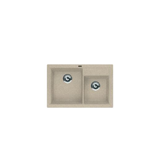 Мойка Florentina Касси-780 песочный (20.230.Е0780.107), 780х510мм