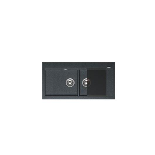 Мойка Florentina Россана черный (20.335.E1000.102), 1000х510мм