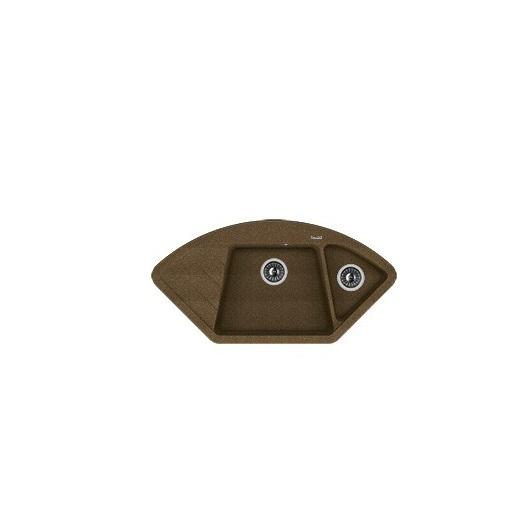 Мойка Florentina Веста коричневый (20.285.E1005.105), 1006х510мм