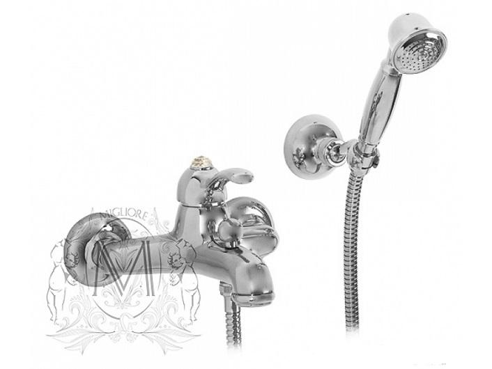 Смеситель для ванны Migliore Lem Swarovski ML.LEM-1902K.CR (хром)