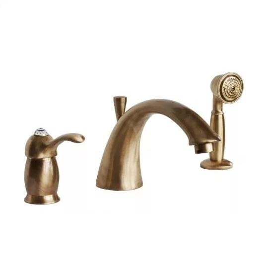 Смеситель для ванны Migliore Lem Swarovski ML.LEM-1950K.BR (бронза)