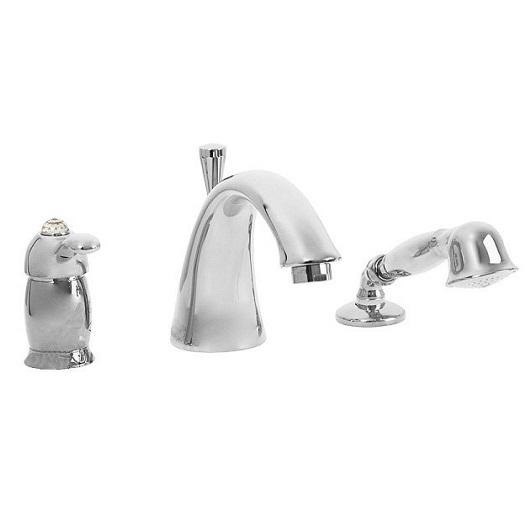 Смеситель для ванны Migliore Lem Swarovski ML.LEM-1950K.CR (хром)