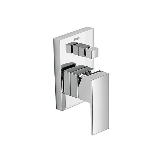 Смеситель для ванны TRES Cuadro 106180 (хром)